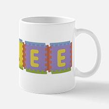 Rylee Foam Squares Small Small Mug