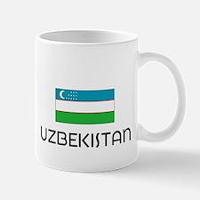 I HEART UZBEKISTAN FLAG Mug