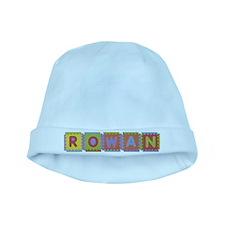 Rowan Foam Squares baby hat
