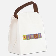 Reese Foam Squares Canvas Lunch Bag