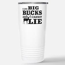 I like BIG Bucks and I can not lie! Travel Mug