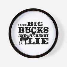 I like BIG Bucks and I can not lie! Wall Clock