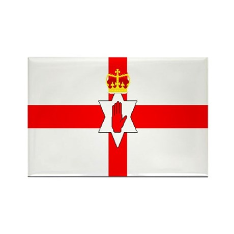 Northern Ireland Rectangle Magnet (100 pack)