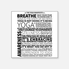 Yoga Manifesto Poster by United Yogis Sticker