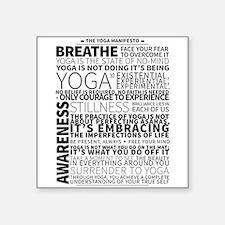 Yoga Manifesto Poster by United Yogis Sticker