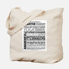 Yoga Manifesto Poster by United Yogis Tote Bag