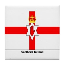 Northern Ireland Tile Coaster