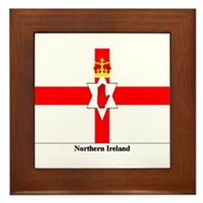 Northern Ireland Framed Tile
