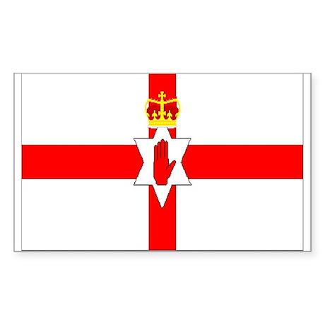 Northern Ireland Rectangle Sticker
