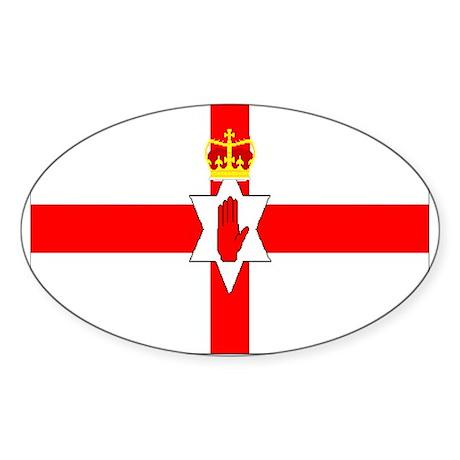 Northern Ireland Oval Sticker