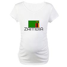 I HEART ZAMBIA FLAG Shirt