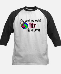 You Wish You Could Hit Like a Girl Tee