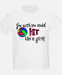 You Wish You Could Hit Like a Girl T-Shirt