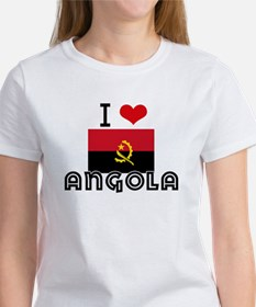I HEART ANGOLA FLAG T-Shirt