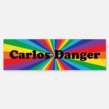 Carlos Danger Bumper Bumper Sticker