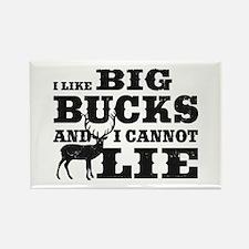 I like BIG Bucks and I can not lie! Rectangle Magn