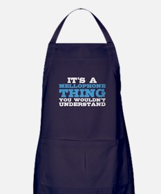 It's a Mellophone Thing Apron (dark)
