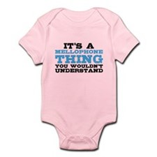 It's a Mellophone Thing Infant Bodysuit