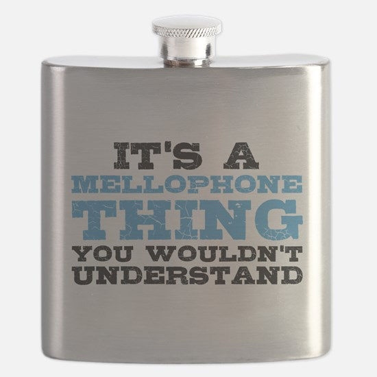 It's a Mellophone Thing Flask