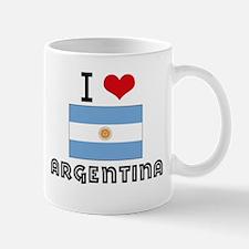 I HEART ARGENTINA FLAG Mug
