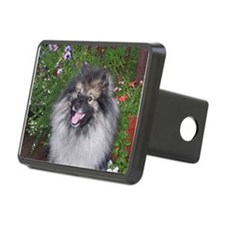 Keeshond Smiling Hitch Cover