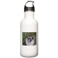 Keeshond Smiling Water Bottle