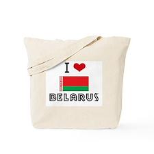 I HEART BELARUS FLAG Tote Bag