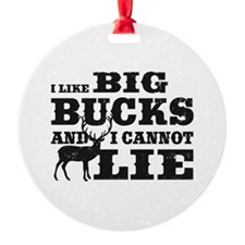 I like BIG Bucks and I can not lie! Ornament