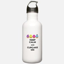 Cupcake On Water Bottle