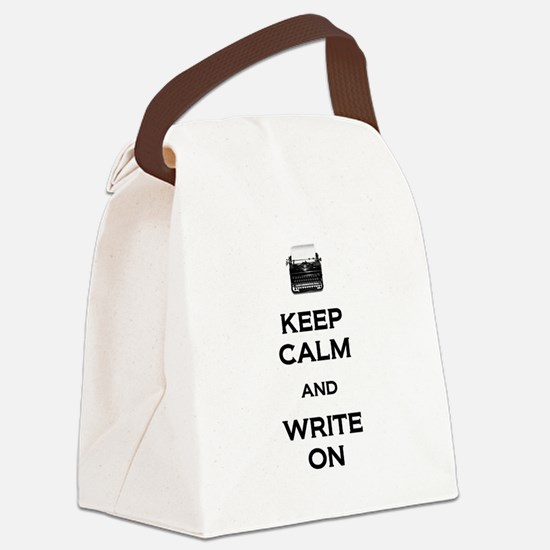 Write On Canvas Lunch Bag