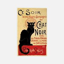 Chat Noir 3'x5' Area Rug