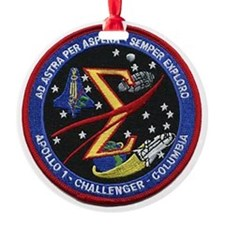 Space Flight Memorial Ornament