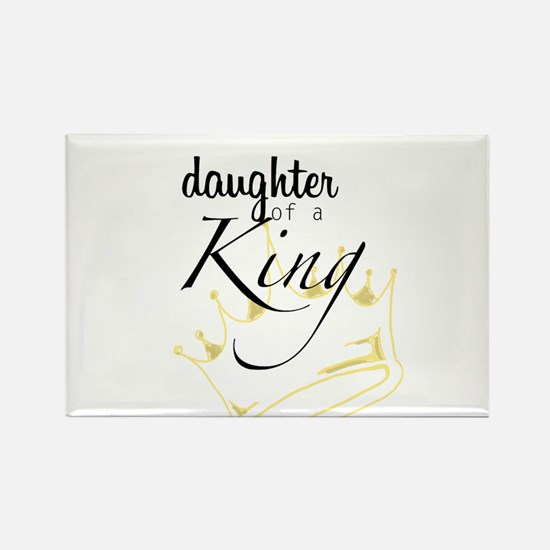 Daughter of a King Rectangle Magnet (100 pack)