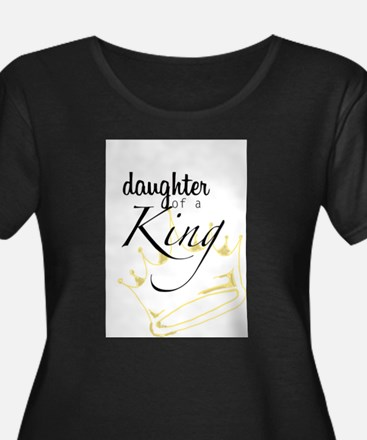 Daughter of a King Plus Size T-Shirt