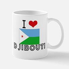 I HEART DJIBOUTI FLAG Mug