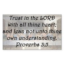 Proverbs 3:5 Decal