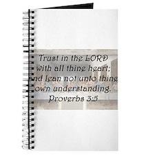 Proverbs 3:5 Journal