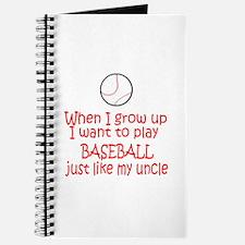 Baseball...just like Uncle Journal