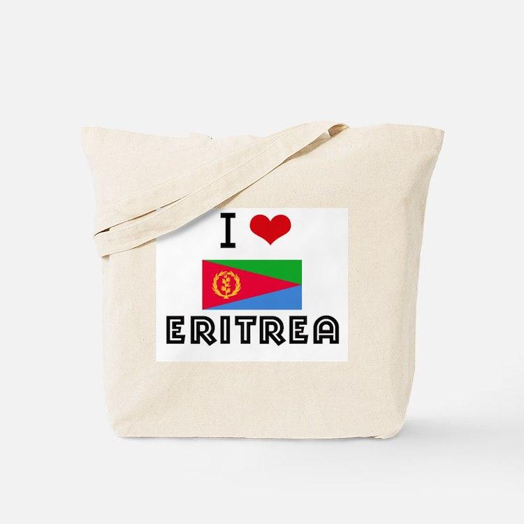 I HEART ERITREA FLAG Tote Bag