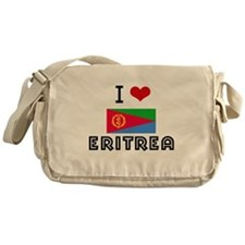 I HEART ERITREA FLAG Messenger Bag