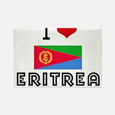 I HEART ERITREA FLAG Rectangle Magnet
