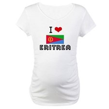 I HEART ERITREA FLAG Shirt
