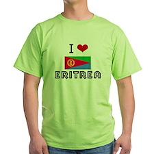 I HEART ERITREA FLAG T-Shirt