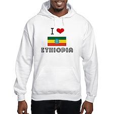 I HEART ETHIOPIA FLAG Hoodie
