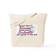 Volleyball Princess Tote Bag