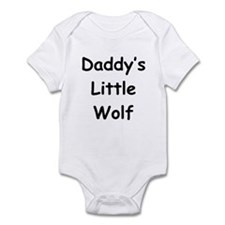 Daddy's Little Wolf Infant Bodysuit