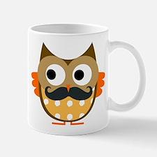 Mustachioed Owl Mug