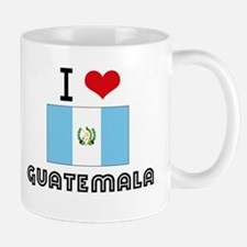 I HEART GUATEMALA FLAG Small Small Mug