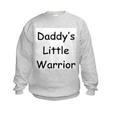 Daddy's Little Warrior Sweatshirt