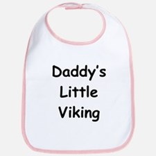 Daddy's Little Viking Bib
